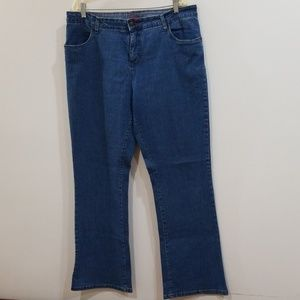 Smith's Dungarees blue denim jeans size 18